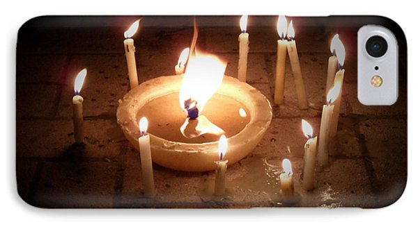 Candles For Innocent Souls Phone Case by Karam Halim