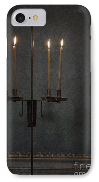 Candles In The Dark IPhone Case by Margie Hurwich