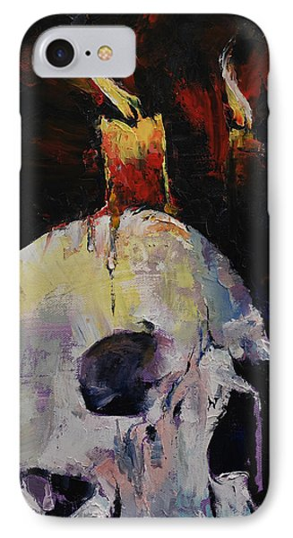 Candles IPhone Case by Michael Creese