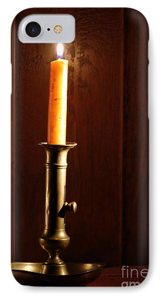 Candlestick IPhone Case by Olivier Le Queinec