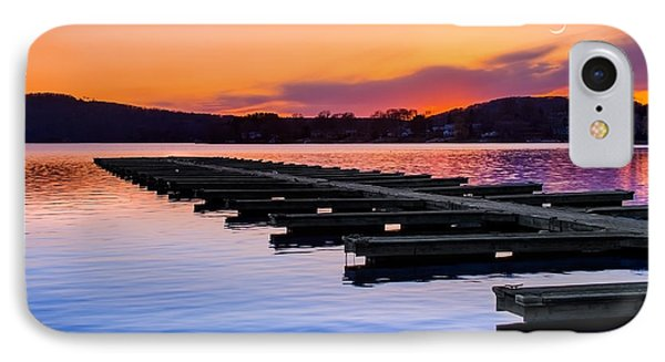 Candlewood Lake IPhone Case by Bill Wakeley