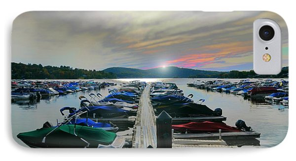 Candlewood Lake IPhone Case by Diana Angstadt