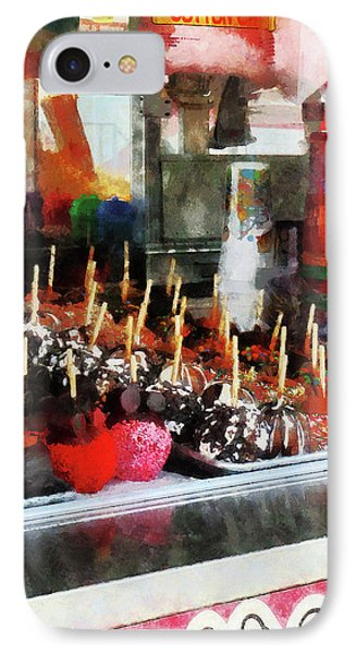 Candy Apples Phone Case by Susan Savad