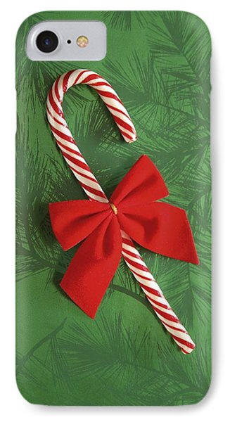 Candy Cane Phone Case by Colette Scharf