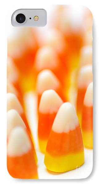 Candy Corn Army Phone Case by Amy Cicconi
