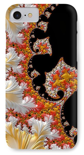 Candy Corn IPhone Case by Susan Maxwell Schmidt