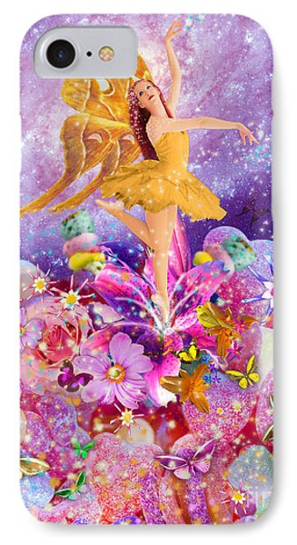 Candy Sugarplum Fairy Phone Case by Alixandra Mullins