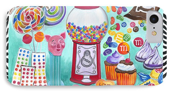 Candy Window Phone Case by Carla Bank
