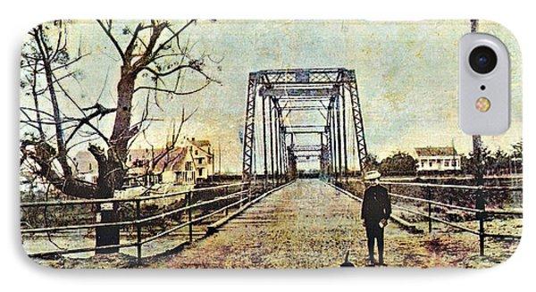 Cane River Bridge C1909 IPhone Case