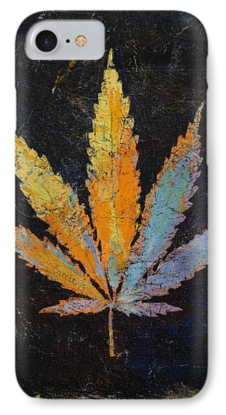 Cannabis Phone Case by Michael Creese