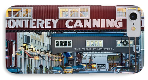 Cannery Row Area At Dawn, Monterey IPhone Case by Panoramic Images
