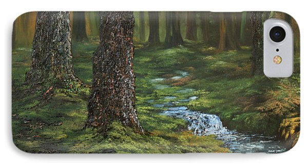 Cannock Chase Forest IPhone Case by Jean Walker