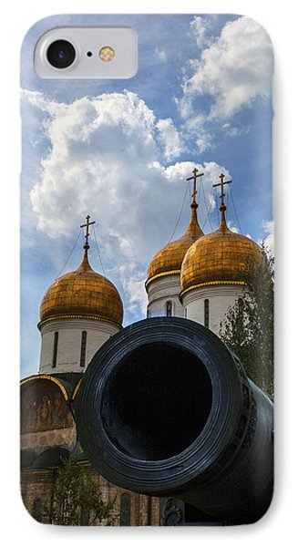 Cannon And Cathedral  - Russia Phone Case by Madeline Ellis