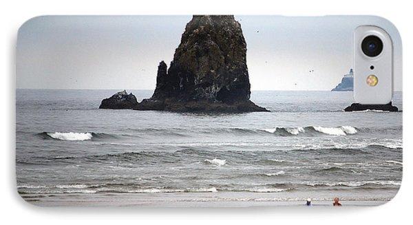 Cannon Beach Run IPhone Case