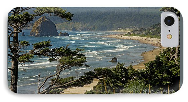 IPhone Case featuring the photograph Cannon Beach Seascape by Nick  Boren