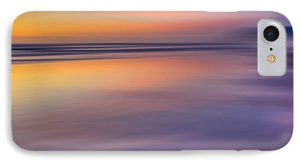 Cannon Beach Abstract IPhone Case by Adam Mateo Fierro