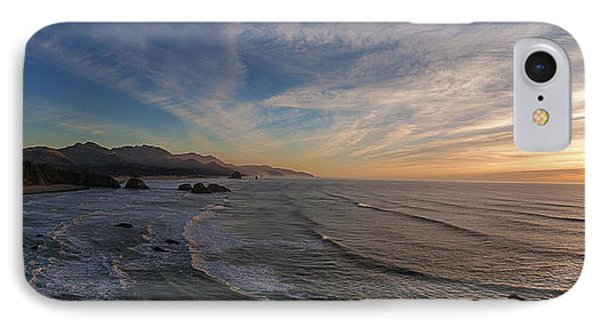 Cannon Beach Sunset Phone Case by Mike Reid