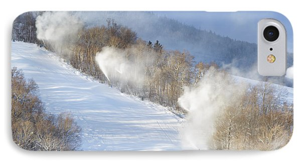 Cannon Mountain Ski Area - Franconia Notch State Park New Hampshire IPhone Case by Erin Paul Donovan