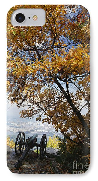 Cannon On Top Of Lookout Mountain Phone Case by Bruce Roberts