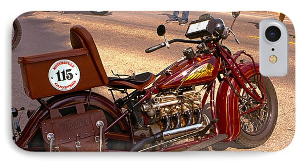 Cannonball Indian #115 IPhone Case by Jeff Kurtz