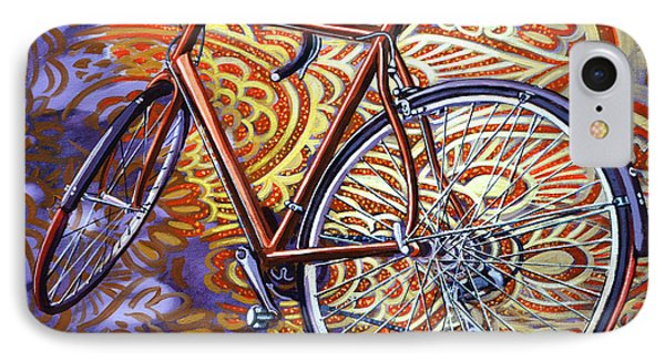 IPhone Case featuring the painting Cannondale by Mark Howard Jones