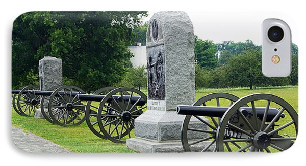 Cannons At Gettysburg IPhone Case by J Jaiam