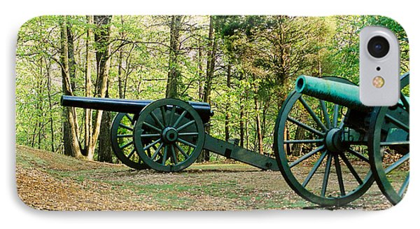 Cannons I IPhone Case by Anita Lewis
