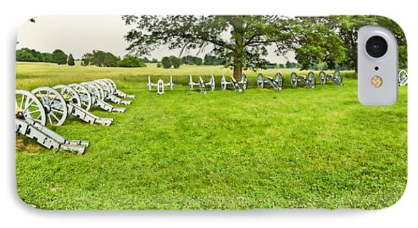 Cannons In A Park, Valley Forge IPhone Case by Panoramic Images