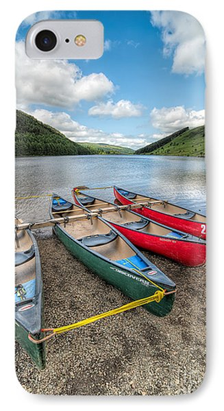 Canoe Break IPhone Case by Adrian Evans