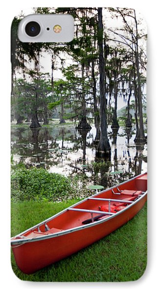 Canoe By Caddo Lake, Texas's Largest IPhone Case