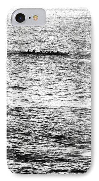 Canoe Glitter IPhone Case by Sean Davey
