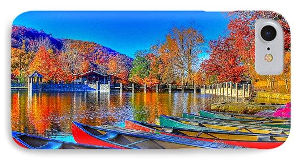 Canoe In Waiting IPhone Case
