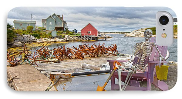 Canoe Rides For One Dollar IPhone Case by Betsy Knapp