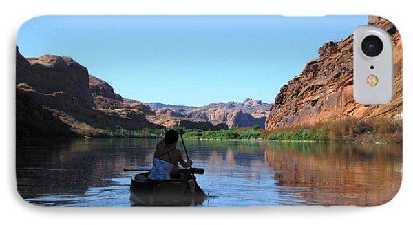 Canoe Trip IPhone Case