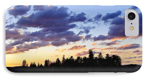 Canoeing At Sunset IPhone Case