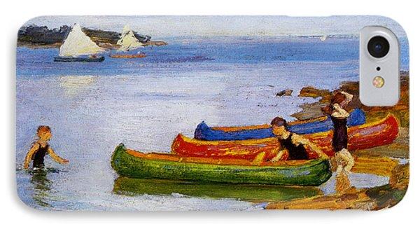 Canoeing IPhone Case