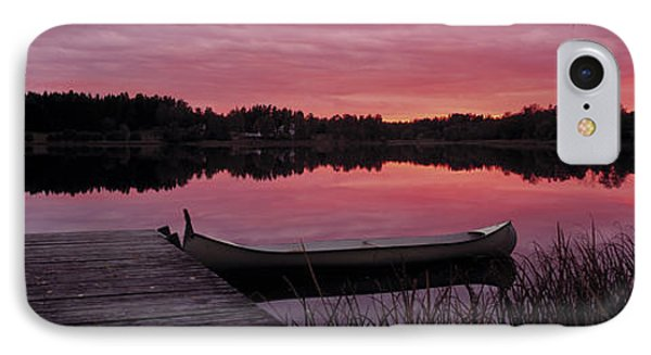 Canoes Lake Yxtaholm Sweden IPhone Case