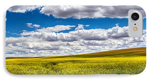 Canola Fields IPhone Case by Robert Bynum