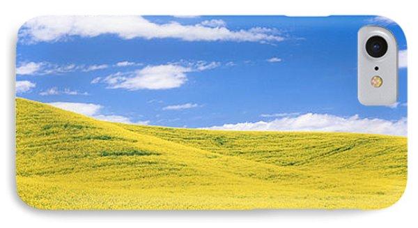Canola Fields, Washington State, Usa IPhone Case