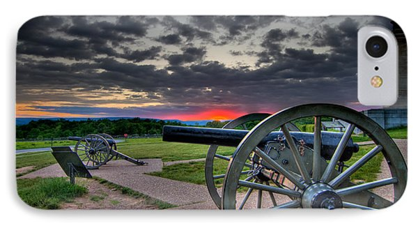 Canon Over Gettysburg Phone Case by Andres Leon