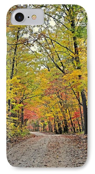 Canopy Of Yellow Phone Case by Marty Koch