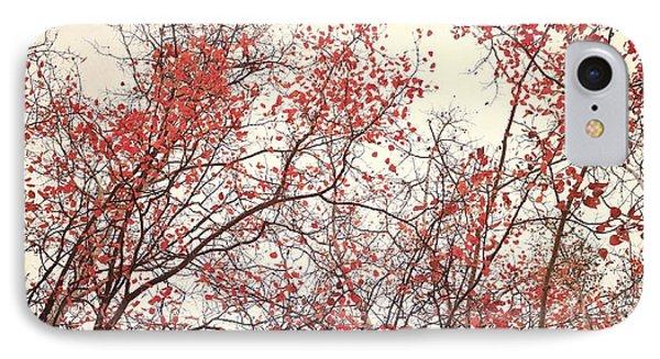 canopy trees II IPhone Case by Priska Wettstein