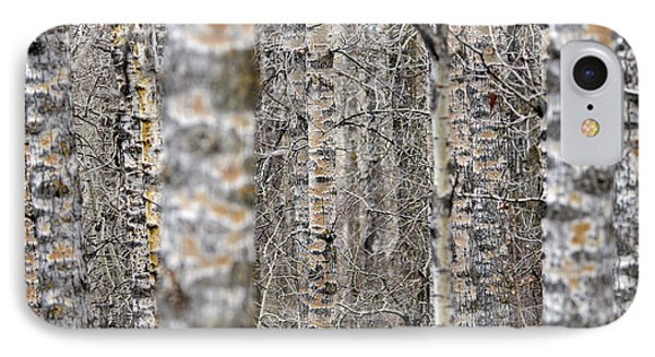 Can't See The Wood For The Trees IPhone Case by Dee Cresswell