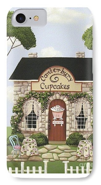 Canterbury Cupcakes Phone Case by Catherine Holman