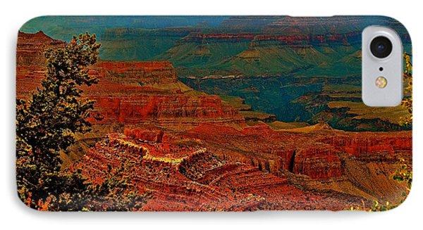 Canyon Colours Show Through IPhone Case
