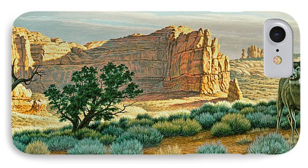 Canyon Country Buck IPhone Case by Paul Krapf
