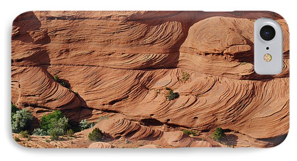 Canyon De Chelly - A Fascinating Geologic Story Phone Case by Christine Till