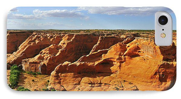 Canyon De Chelly From Face Rock Overlook Phone Case by Christine Till