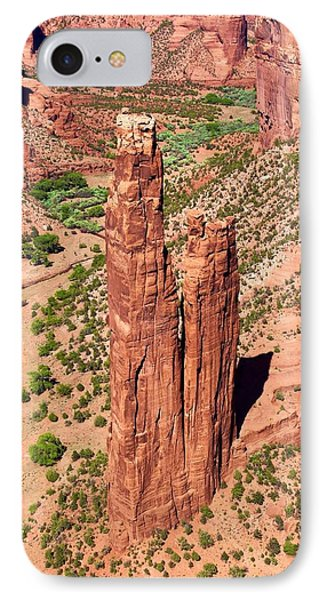 Canyon De Chelly Towers IPhone Case by Suzanne Lorenz