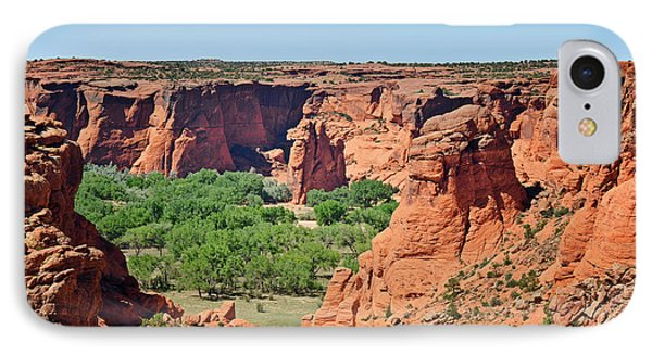 Canyon De Chelly - Tunnel Overlook Phone Case by Christine Till
